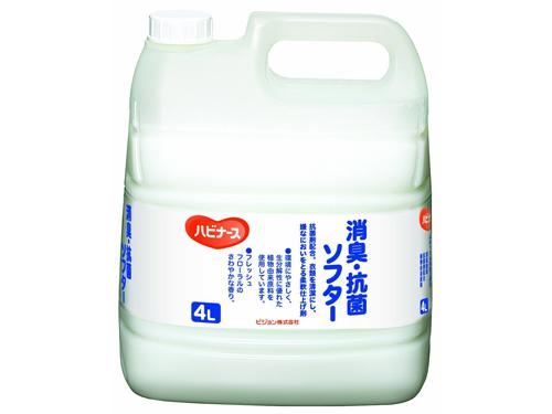 ハビナース 消臭・抗菌ソフター 4L