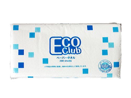 エコクラブ・ペーパータオル 200枚×30パック(中判シングル)