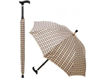 アンブレラ・ステッキ (傘・杖兼用)