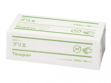 タウパープリエM ペーパータオル 200枚×25パック(中判シングル)