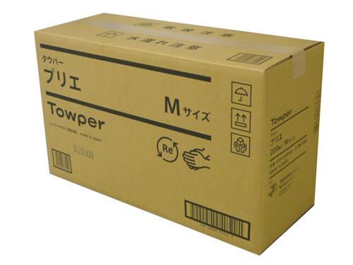 ペーパータオル タウパープリエM 200枚×30パック(中判シングル)