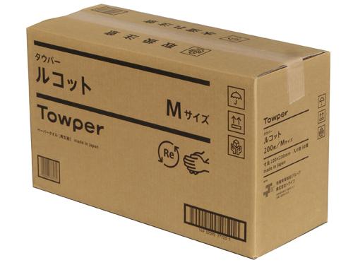 タウパールコットM ペーパータオル 200枚×30パック(中判シングル)