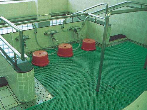 スーパーバイオマット (浴室用衝撃緩衝バスマット 1平方メートル)