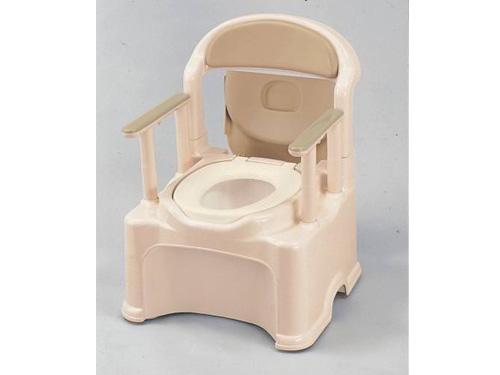 樹脂製ポータブルトイレ GR-1 <やわらか便座タイプ>