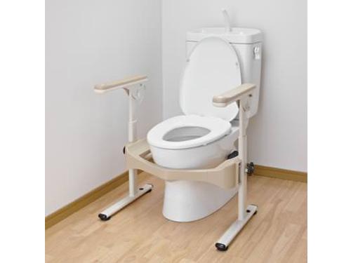 アロン化成 安寿 洋式トイレ用フレーム S-はねあげR-2