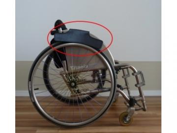 【在庫処分品】車いす用袖汚れ防止品 マッドフラップ 80%OFF