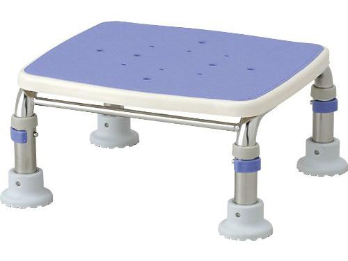 【在庫処分品】安寿 ステンレス製浴槽台R/高さ10cm ブルー 45%OFF