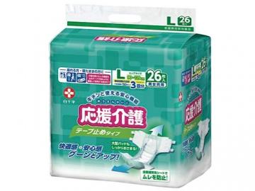 サルバ 応援介護テープ止め 大容量タイプ(約3回分吸収)【ケース販売】