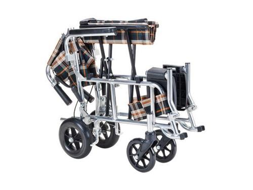 ピロN(コンパクト介助式車いす背折れタイプ)