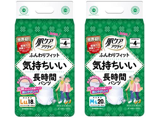 日本製紙クレシア 肌ケアアクティ 気持ちいい長時間パンツ
