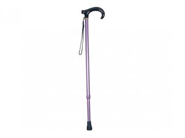 伸縮アルミ製カラー杖(房付)