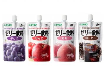 【便利な詰合せ】 ジャネフ ゼリー飲料 4種詰合せ (32食)