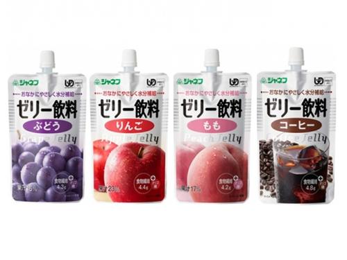 【便利な詰合せ】ジャネフ ゼリー飲料 4種詰合せ (32食)