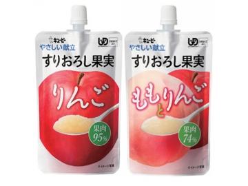 【便利な詰合せ】やさしい献立 すりおろし果実 3種詰合せ (24食)