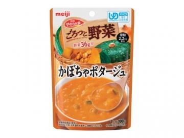 やわらか食 ごろっと野菜 かぼちゃポタージュ