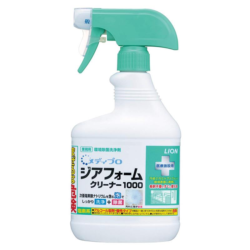 メディプロ ジアフォームクリーナー1000 520ml×8本 (業務用環境除菌洗浄剤 )
