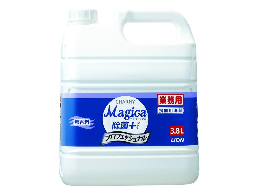 253105 チャーミーマジカ除菌プラス グリーン3.8L×3本