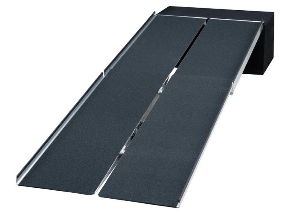 ポータブルスロープ アルミ4折式タイプ
