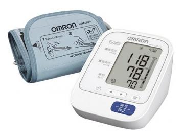 上腕式血圧計 HEM-7130-HP