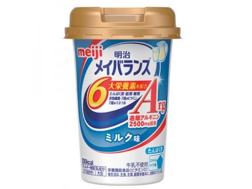 メイバランスArg Miniカップ ミルク味