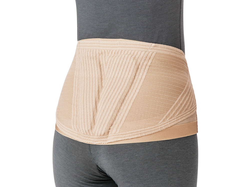 腰部保護薄型ベルト ランバックスリム
