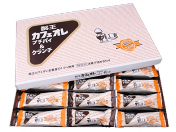 酪王カフェオレプチパイ10個&クランチ5個セット