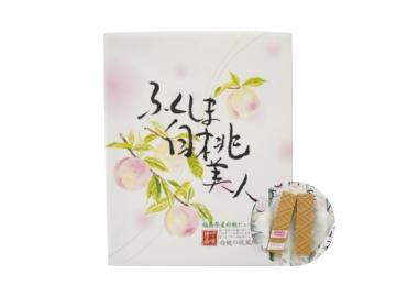 ふくしま白桃美人 欧風焼菓子 14枚入