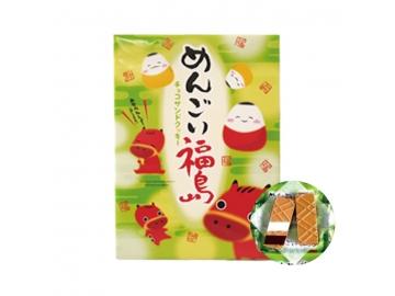 めんごい福島 チョコサンドクッキー 33枚入り