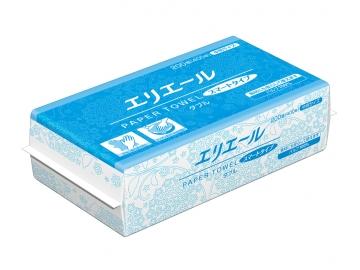 エリエール ペーパータオル スマートタイプダブル200組×35パック(中判ダブル)