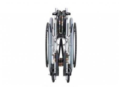 アルミ製車いす EX-50(自走式・背折れタイプ)