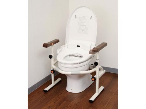 洋式トイレ用スライド手すり