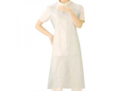 クリーンエプロン(袖なし)ホワイト 30枚入