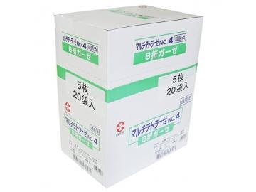 マルチテトラーゼ No.4(滅菌済 医療ガーゼ)