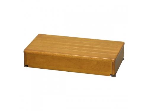 安寿 木製玄関台 60W-30-1段(幅60×奥行30×高さ12cm)