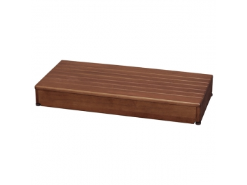 安寿 木製玄関台 90W-40-1段(幅90×奥行40×高さ12cm)