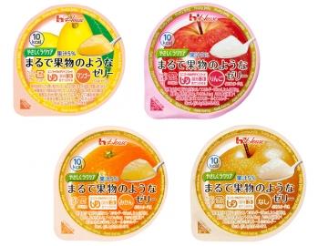 【便利な詰合せ】やさしくラクケア まるで果物のようなゼリー4種詰合せ (48食)