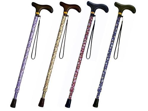 安寿 アルミ製伸縮杖 美匠
