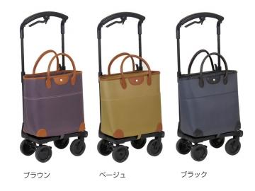 おとなりカート ブレーキ付トートタイプ(横押しカート)