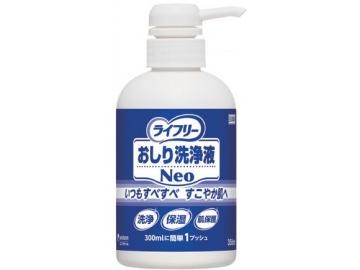 ライフリー おしり洗浄液Neo 350mlさわやかな石鹸調の香り