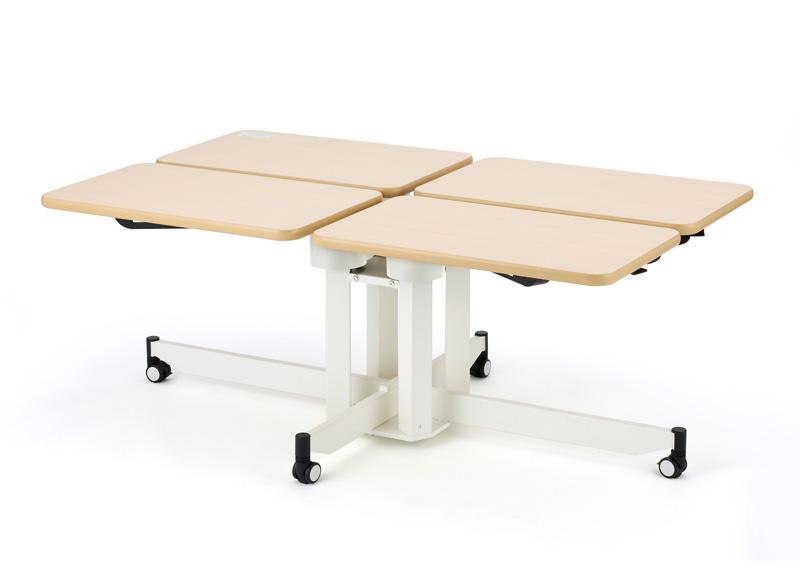 ハビナース 個別昇降テーブル ここあ PRT-4(4人用)