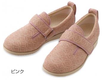 【在庫処分品】あゆみ ダブルマジックII雅(足囲7E)/ピンク【35%OFF】