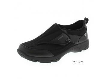 【在庫処分品】ラクウォーク 紳士用 RM-9172(足囲4E相当)/ブラック【30%OFF】
