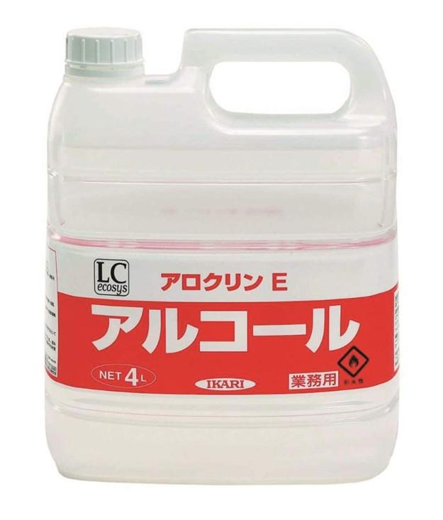 アロクリンE 4L×4本(食品添加物)