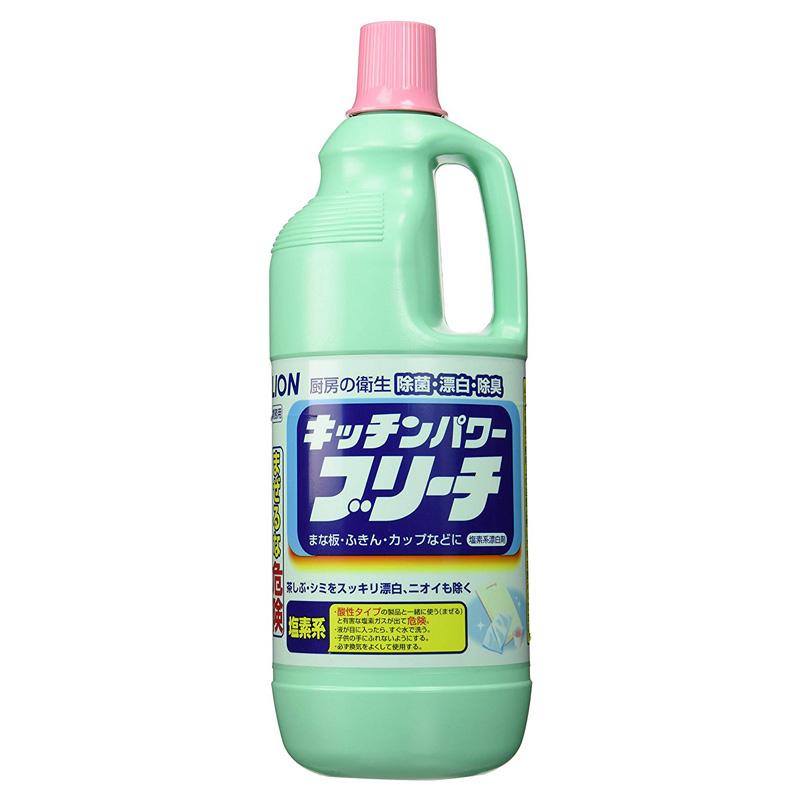 キッチンパワーブリーチ 1.5L×8本(台所用漂白剤)