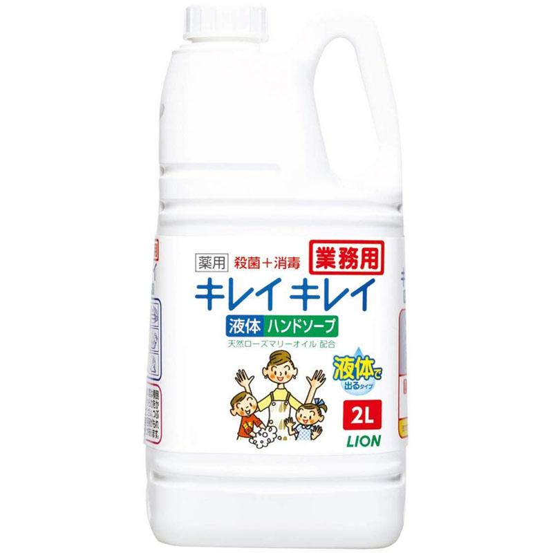 キレイキレイ 薬用液体ハンドソープ(シトラスフルーティーの香り)2L×6本