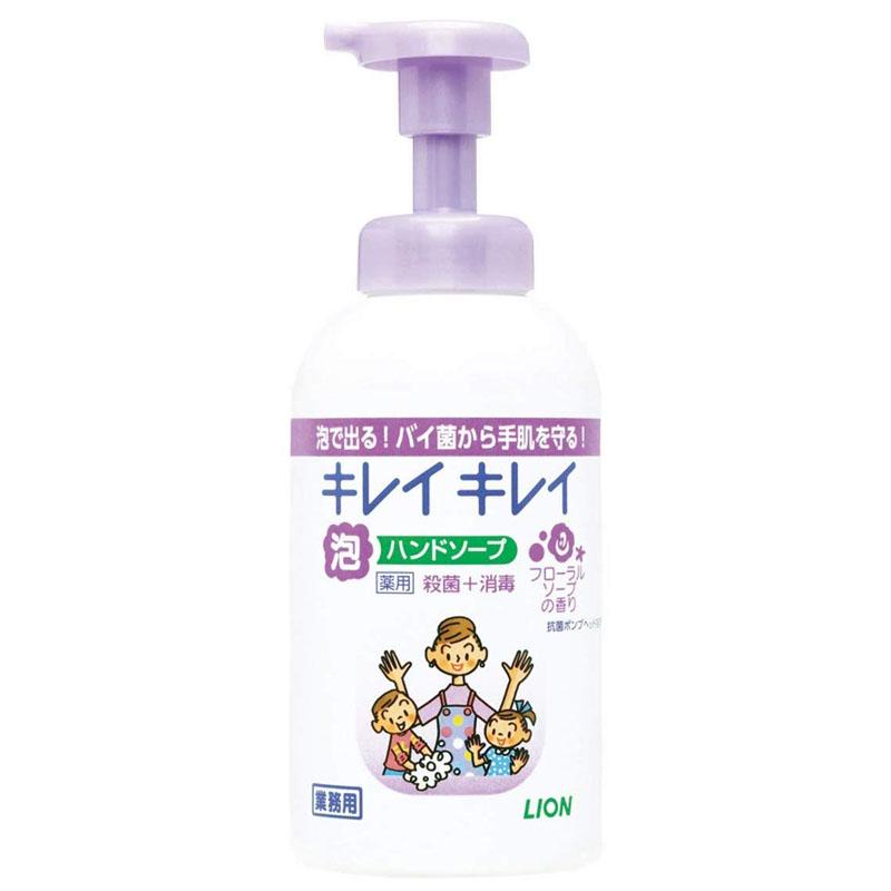 キレイキレイ 泡ハンドソープ(フローラルソープの香り)550mL×12本