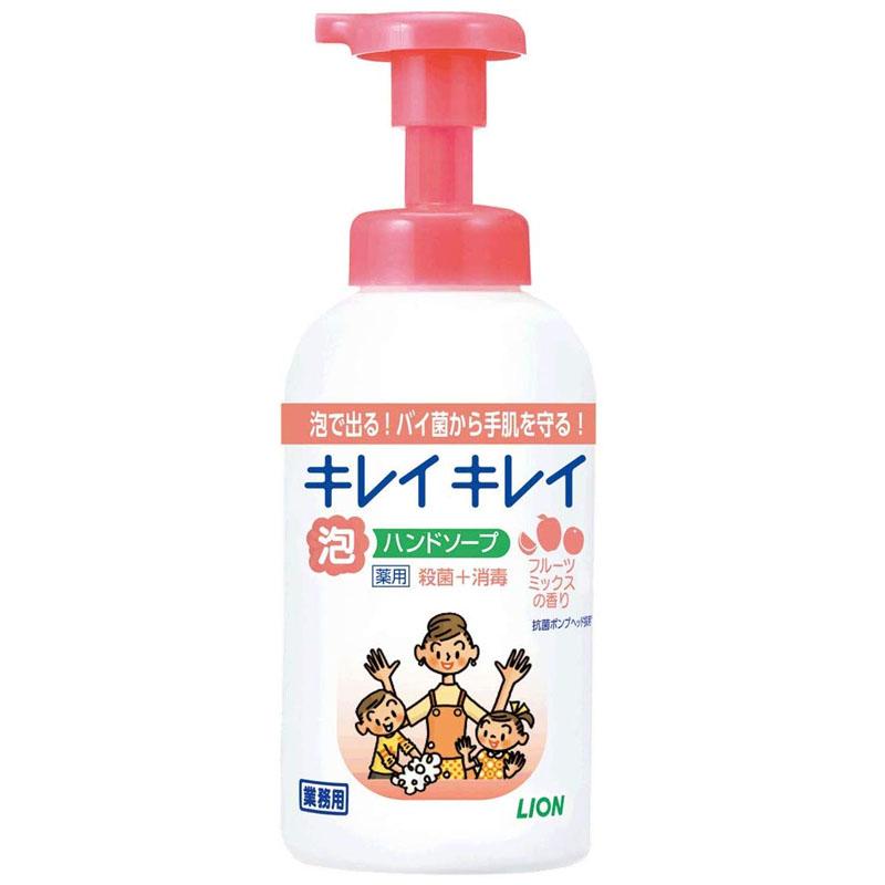 キレイキレイ 泡ハンドソープ(フルーツミックスの香り)550mL×12本