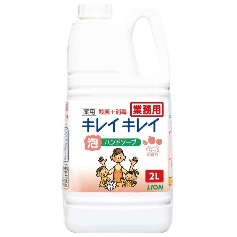 キレイキレイ 泡ハンドソープ(フルーツミックスの香り)2L×6本