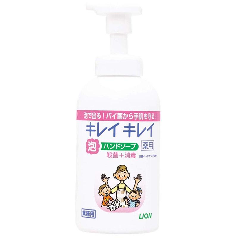 キレイキレイ 泡ハンドソープ(シトラスフルーティの香り) 550mL×12本