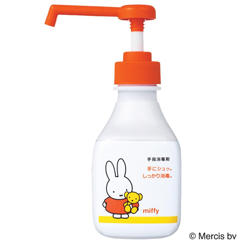 サニテートA ハンドミスト300mL×8本 -デザインボトル ミッフィー(手指用消毒剤)